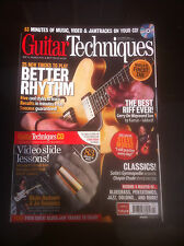 Guitar Techniques magazine & CD: April 2012