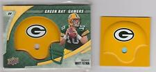 Lot of 20 MATT FLYNN 2008 Upper Deck GREEN BAY PACKER ALL ROOKIES Helmet SWATCH