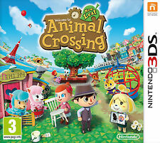 ANIMAL CROSSING: NEW LEAF (Nintendo 3DS, 2013) Nuovo