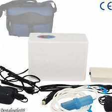 3L/MIN Portable Oxygen Concentrator Generator Health Care + Battery + case Home