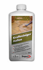 Sopro Kraftreiniger Außen 631 1 ltr Steinreiniger Stein und Klinkerreiniger Neu