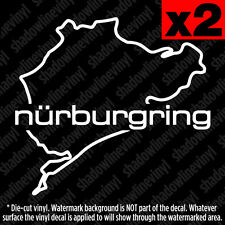 Nurburgring Track Vinyl Decal Sticker Germany VW BMW Audi Porsche Stig M3 RS4 M5
