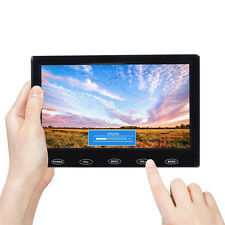 "7"" Ultrathin TFT LCD Monitor HD 1280*800P Touch Screen Display AV/VGA/HDMI Input"