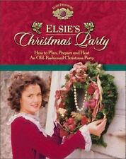 Elsie's Christmas Party  Hardcover