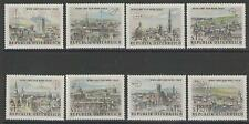 AUSTRIA SG1428/35 1964 WIPA STAMP EXHIBITION MNH