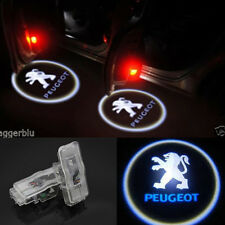 2x LED Logo Ghost Shadow Projector Door Light  For Peugeot 408 508 Rcz 1007 206