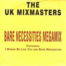 THE UK MIXMASTERS Bare Necessities Megamix Vinyl Record 7 Inch Connect ZB 45135