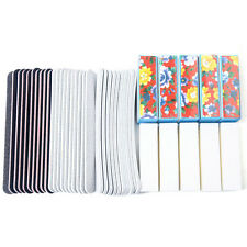 40PCS Nail Art Sanding Files Buffer Block Manicure Pedicure Tools UV Gel Set New