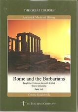 Rome and the Barbarians DVD New Sealed Great Courses Teaching Co