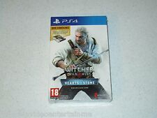 Witcher III Wild Hunt Hearts Of Stone Gwent Card Bundle PS4 Unopened UK Import