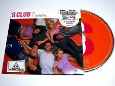 cd-single, S Club 7 - Natural, Australia, Cardsleeve