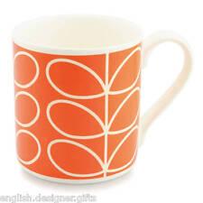 Orla Kiely Stelo Lineare Arancione Tazza di grandi dimensioni-Fine Porcellana Cinese