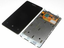 Original Nokia Lumia 800 LCD Display Touch Screen Rahmen Cover Glas Scheibe Neu