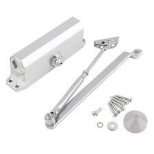 65-85KG Aluminum Commercial Door Closer Two Independent Valves Arm Control Sweep