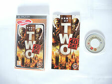 ARMY OF TWO THE 40TH DAY complete in box with manual Sony PSP game