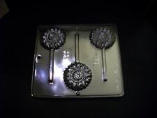 NEW GERBERA Flower Chocolate Candy Clay Lollypop Mold