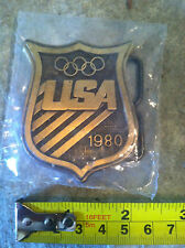1980 USA Olympic Belt Buckle  (S#A3) ***