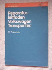 VW T1 T2 T3 Bus 2,0 CU Motor+Vergaser+Schaltplan Reparaturhandbuch+Reparaturbuch