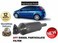 FOR FIAT GRANDE PUNTO 1.3D 2005-  NEW DPF DIESEL PARTICULATE SOOT EXHAUST FILTER