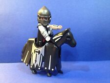 PLAYMOBIL KNIGHT ON ARMORED HORSE from Set 4160, Dragon's Land Advent Calendar