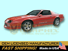 1985 1986 1987 Chevrolet Camaro IROCZ IROC-Z Z28 Decals & Stripes Kit