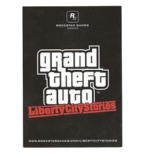 Grand Theft Auto Liberty City Stories Postcard Rockstar Games GTA rare promo