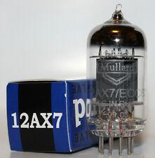 Mullard 12AX7 / ECC83 pre-amp tubes,Reissue, NEW, Balanced Triodes