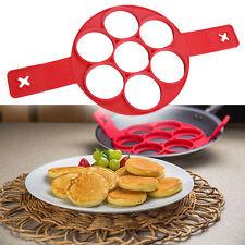 Non Stick Pancake Breakfast Maker Pan Flip Egg Ring Omelette Kitchen Tools Set