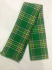 IRISH NATIONAL TARTAN SCARF FOR MENS / LADIES 100% ACRYLIC WOOL HIGH QUALITY