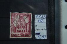 FRANCOBOLLI GERMANIA REICH USATI N°683 (A8349)