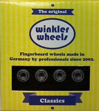 """Winkler Wheels """"BR edition"""" black (Fingerskateboard / wheels / Rollen/ Räder)"""