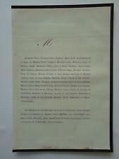Mme NOTTA née PLUCHET 1865 Familles THIEBAUTL Maire du Xe PARIS  TESTU MURET