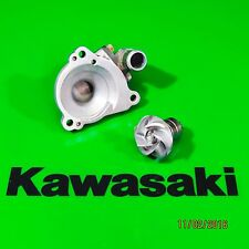 1986 1985 Kawasaki KX500 Water Pump Cover Impeller Shaft Waterpump 59256-1057