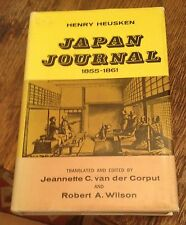 JAPAN JOURNAL 1855-1861 HEUSKEN 1964 US FIRST Vintage Travel FREE US SHIPPING