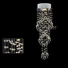 Crystal Lights Lamp Bedroom Kitchen Living Room LED Pendant Chandelier 23.62''