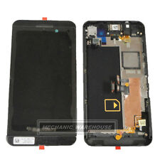 For Blackberry Z10 4G LCD Touch Screen Digitizer Display Frame Black Install New