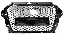 AUDI pour a3 8v 2012-2015 FRONT GRILL BARBECUE ajourées rs3 Look pare-chocs Coque * 10