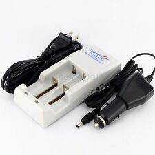 Trustfire 18650/17670/16340/14500 3.2V/3.7V Lithium battery CAR / WALL CHARGER