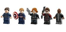 LEGO MINIFIGURES MARIA HILL NICK FURY CAPTAIN AMERICA BLACK WIDOW HAWKEYE 76042