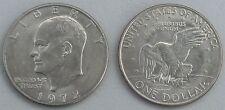 USA Eisenhower Dollar 1972 D p203 vz-unz
