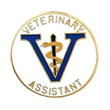 Veterinary Assistant Lapel Pin Vet Graduation Recognition Emblem Pins 5049 New