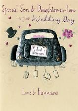 SON & Femminile WEDDING DAY greeting card una seconda natura DAYDREAMS CARDS