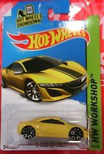 2015 Hot Wheels | '12 Acura NSX Concept (Yellow)