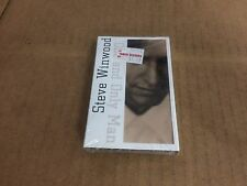 STEVE WINWOOD ONE AND ONLY MAN FACTORY SEALED CASSETTE SINGLE