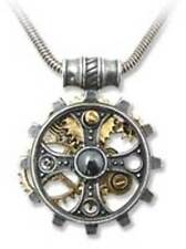 Alchemy Gothic Empire Foundryman's Ring Cross Pendant Necklace Steampunk P606