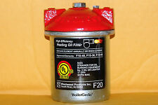 Oil Burner Filter Canister---General 1A, Unifilter 77, Westwood F10, Mitco 264F
