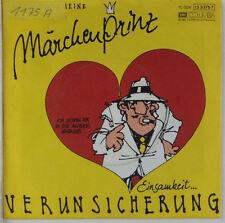 """7"""" Single - Erste Allgemeine Verunsicherung - Märchenprinz - s683"""