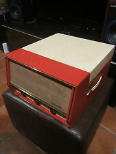 Dansette Conquest Auto Record Player - refurbished, loud stereo catridge