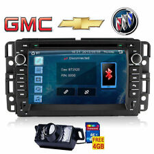 Rear Camera+US Map+For GMC Chevrolet Car Auto DVD CD Player Radio Stereo TV