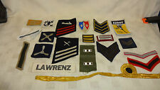 Job Lot Of 20 Various Military & Other Cloth Badges ETC Lot 4